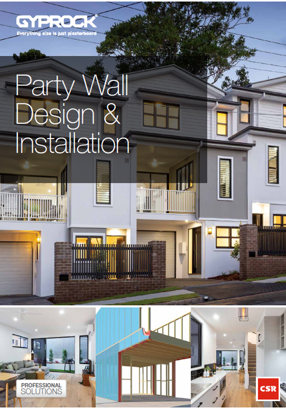 Party Wall Design & Installation