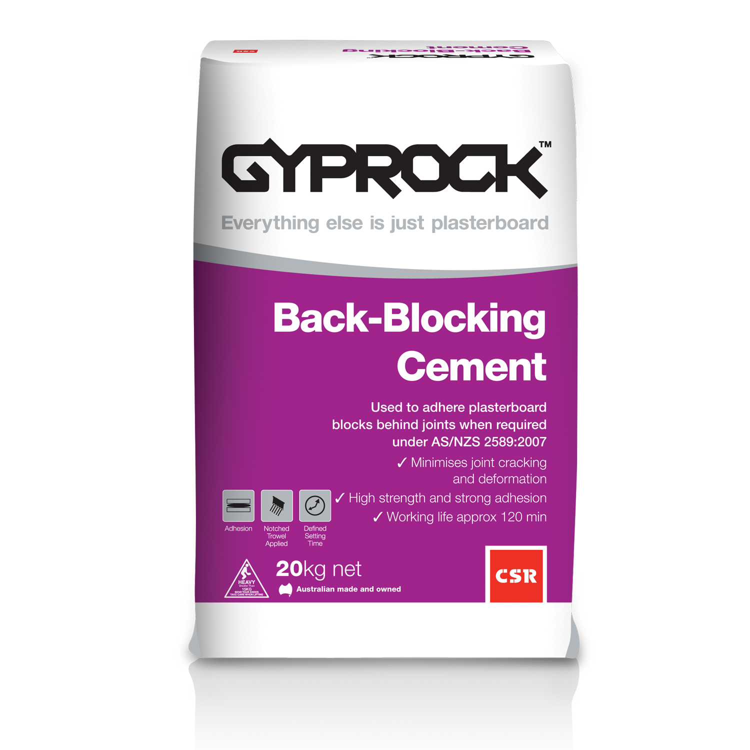 Gyprock® Back Blocking Cement